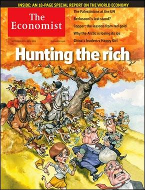 Cover of Economist Sept 24 2011
